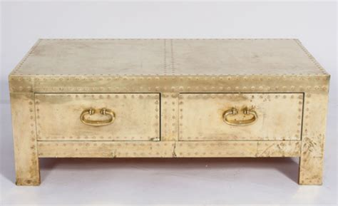 brass trunk coffee table brass coffee table design images photos pictures