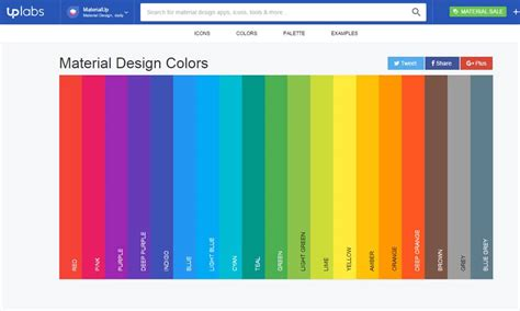 material colors tools for generating material design color palettes 187 css