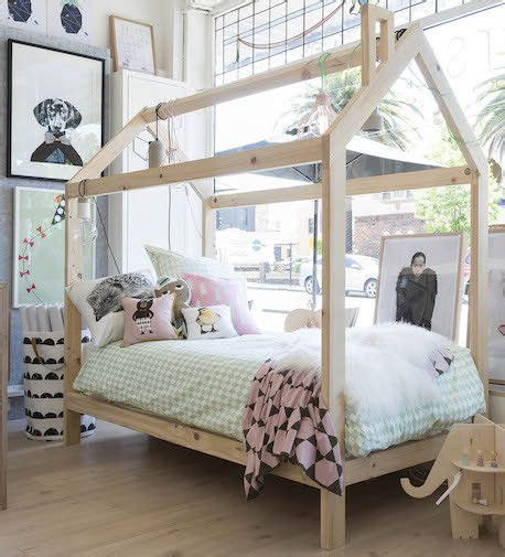 kids house bed timber house house beds and king on pinterest