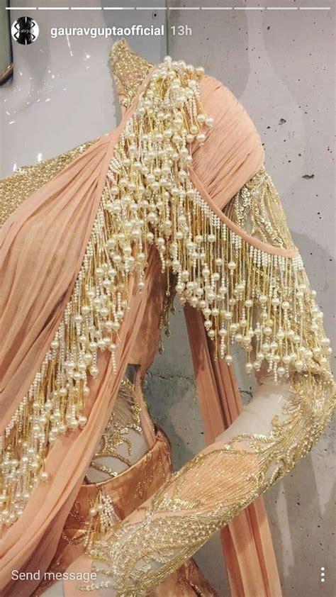 New interesting blouse trends indian bride - Simple Craft ... Indian Designer Bridal Dresses 2017