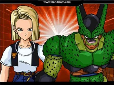 cell and android 18 cell 2nd vs android 18