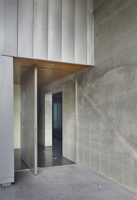 Interior Design Door Entrance by Modern Steel Frame Residence Entrance Home Building