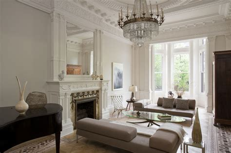 living room moulding front transitional living room new york by neuhaus design architecture p c