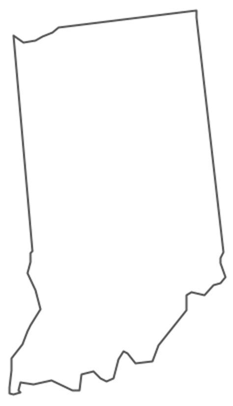 geo map usa indiana