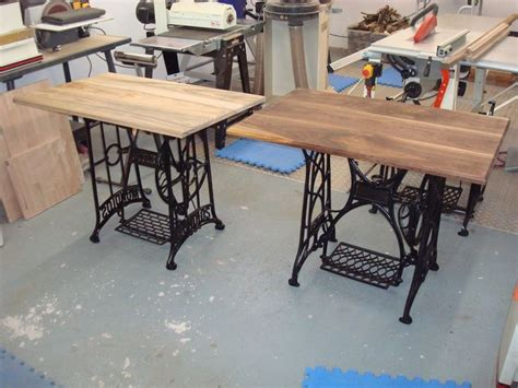 sewing machine desk ideas sewing machine ideas bought a few treadle sewing