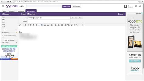 yahoo email not sending how to send fax from yahoo e mail youtube