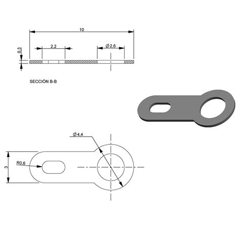 Outer Size terminal outer diameter 4 40mm length 10 00mm type flat pack of 30 ref 014052 mootio