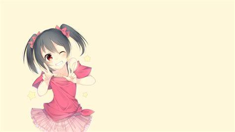 cute anime girl live wallpaper anime anime girls simple background love live