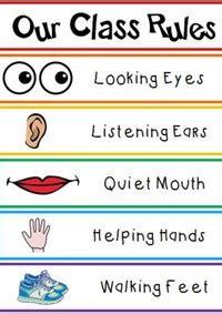 pliszkas pre  classroom rules