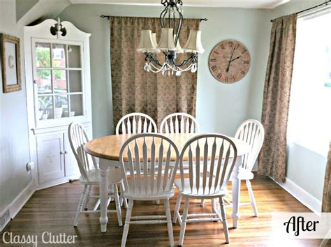 Dining Room Set Makeover by Dining Room Makeover