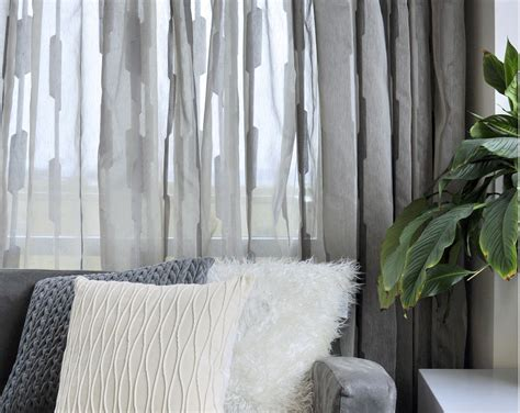 Shindi Sheer Drapery Fabric By Charles Parsons Interiors