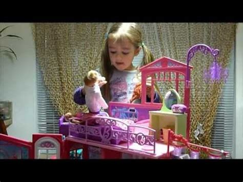 barbie doll house videos youtube barbie glam vacation doll house play video youtube