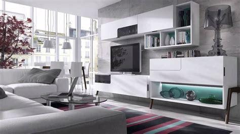muebles salon modernos blanco muebles de sal 243 n modernos blancos youtube