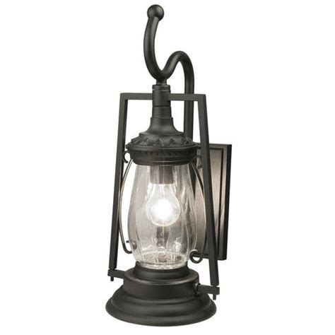 Patriot Lighting 174 Keros 20 7 8 Quot Black 1 Light Coach Lights Menards