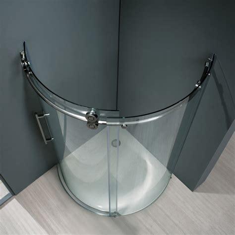 round showers bathroom vigo round shower vg6031 series modern new york by vigo