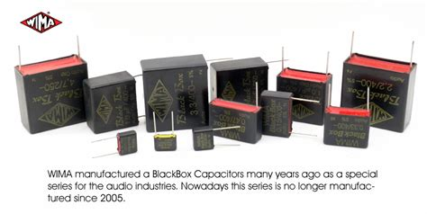 what are wima capacitors black box wima capacitors