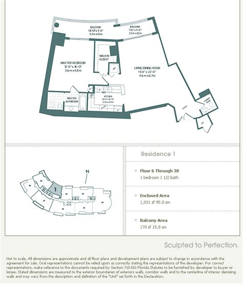 Carbonell Brickell Key Floor Plans by Carbonell Brickell Key Condo Floor Plans