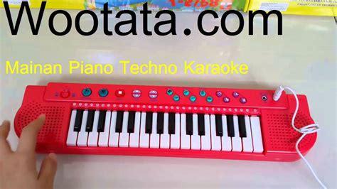 Mainan Techno Karaoke Keyboard mainan musik piano balita techno karaoke keyboard