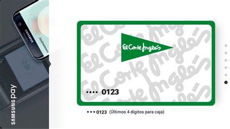 tarjeta corte ingles la tarjeta de el corte ingl 233 s se suma al pago por m 243 vil de