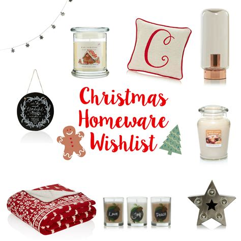 christmas homeware wishlist dizzybrunette