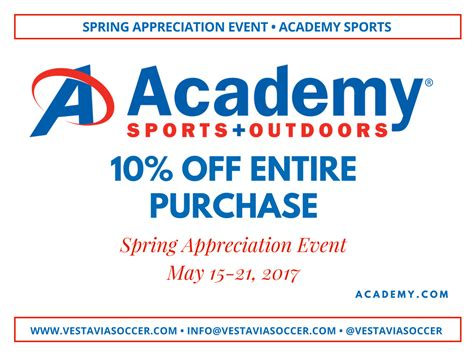 Academy Sports Coupons 10 Printable