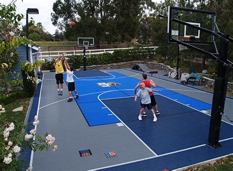 sports you can play in your backyard 10 game court building tips sport court of st louis