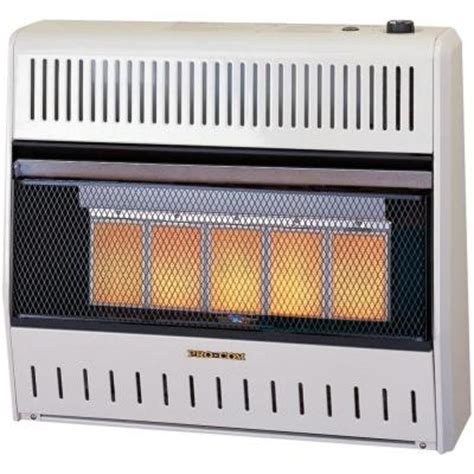 procom 27 in vent free dual fuel infrared gas wall heater