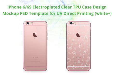iphone 6s electroclear tpu mock product mockups creative market