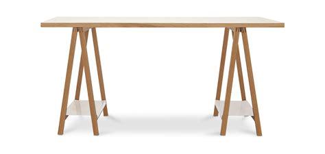 tavolo cavalletti tavolo di legno con cavalletti stile scandinavo
