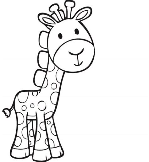 imagenes de jirafas para pintar jirafa infantiles imagui