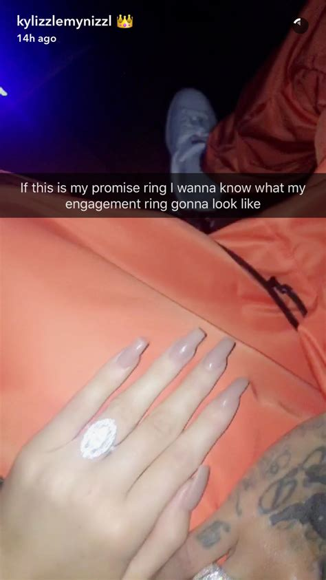 tyga gives jenner a promise ring