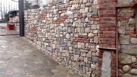 Muri In Pietra E Mattoni by Lavori In Pietra Naturale Pietra Di Credaro E Mattoni