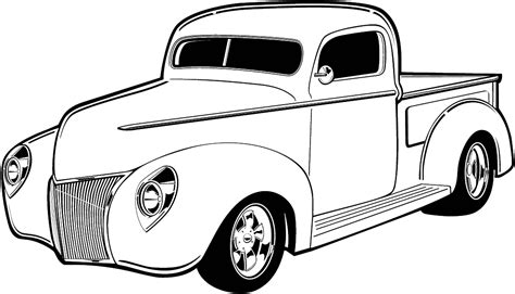 old cars black and white classic car line drawing www pixshark com images