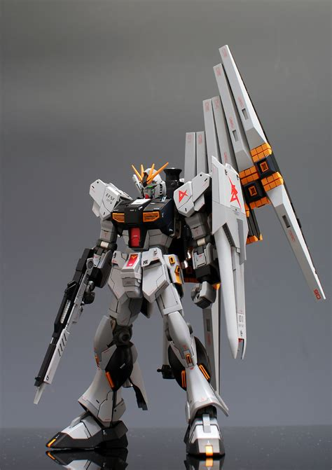 wallpaper nu gundam hguc rx 93 nu gundam painted build wallpaper size images