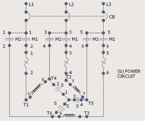 wye delta wiring diagram wye automotive wiring