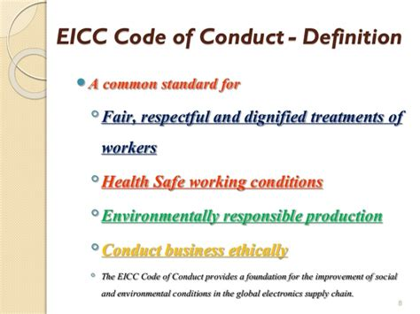 design ethics definition eicc v 5 1 intro slide shared