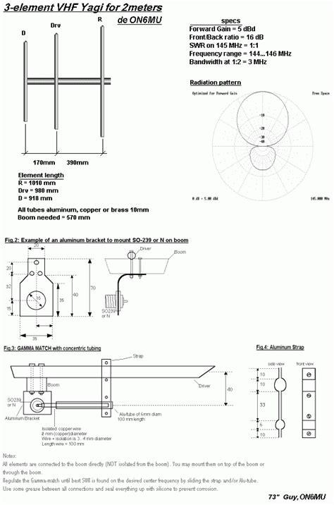 Antena Anten Rc Mobil Remote Radio Lifier Cowok 35cm 2 mt antenna 3 element yagi