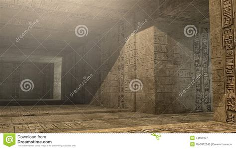 Pyramid Interiors by Pyramid Interior Scifi Royalty Free Stock Photography