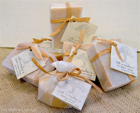 All Handmade Soaps - rub a dub dub handcrafted soap giveaway fox hollow cottage