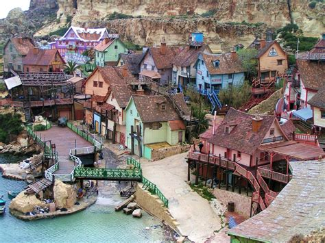 popeye village beautiful small towns and villages from across the world