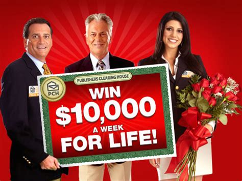 Pch 10000 A Week - 10 000 a week for life min 1 000 000 sweepstakes