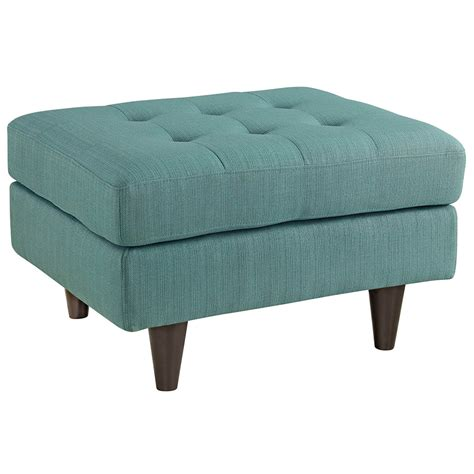 blue upholstered ottoman enfield modern light blue ottoman eurway furniture