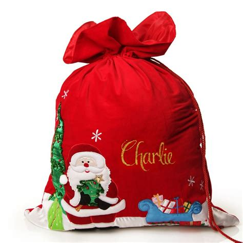 25 unique personalised santa sacks ideas on pinterest