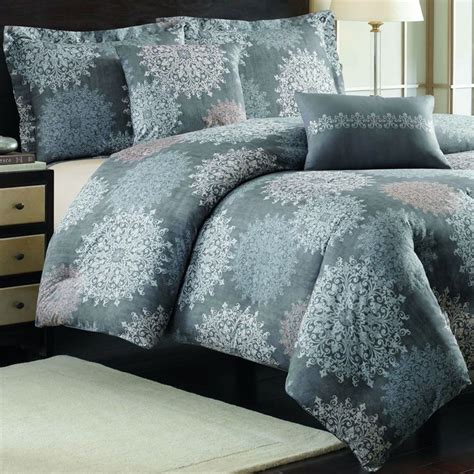 nicole miller cortina cotton 5 piece comforter set with