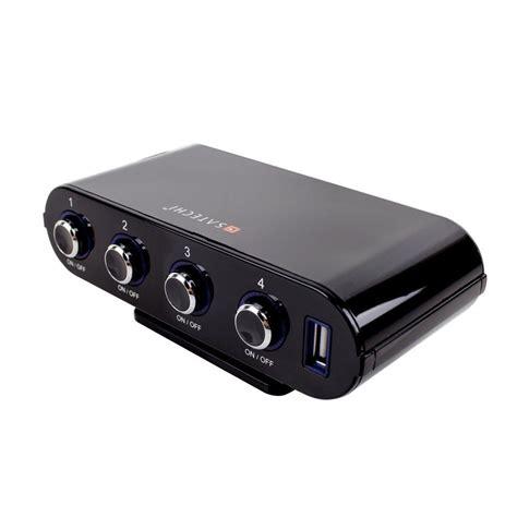 satechi 5 port 12v car socket extender 187 gadget flow