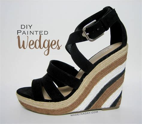 Painted Wedges Shoes by Painted Wedge Sandals Made In A Day