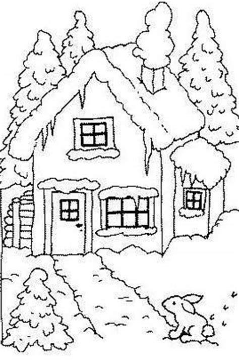cottage house coloring pages pin cottage colouring pages on pinterest