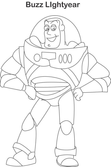 buzz lightyear coloring pages free printable buzz lightyear color page az coloring pages