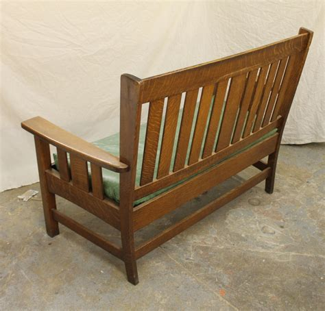 stickley bench bargain john s antiques 187 blog archive mission quarter