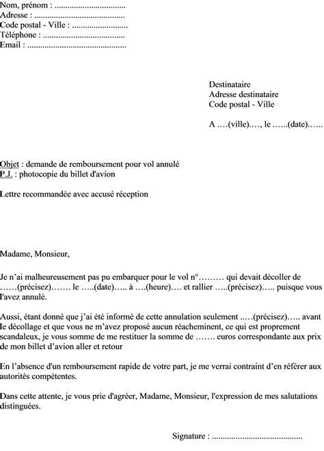 Demande De Permission Lettre Application Letter Sle Exemple De Lettre De Demande Remboursement